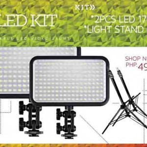 Led Two Light 170 Video Lighting Kit