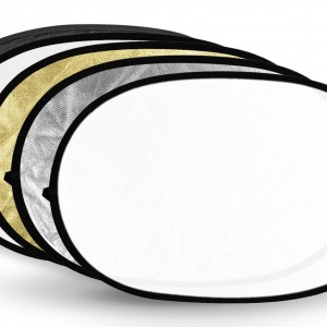 Oval Reflector 5-in-1  Medium 80x120cm Code: RFD-812