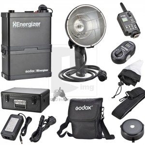 Portable Xenergizer Wireless Power Control Outdoor Flash