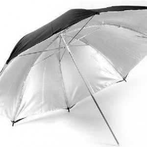 "33"" Silver Reflective Umbrella Code: UM-33RS"