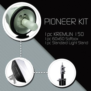 Photo Booth Studio Flash Kit: Pioneer