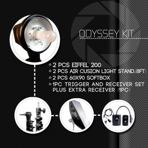 Odyssey Studio Kit for Portrait or Hobby