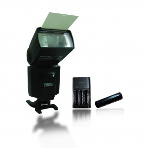 Speedlight Montana C600 with Eneloop XX Batteries
