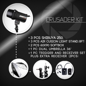 Crusader Kit for Larger Studios and Events
