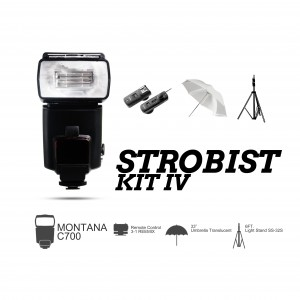 Strobist Kit IV for on-the-go Photography