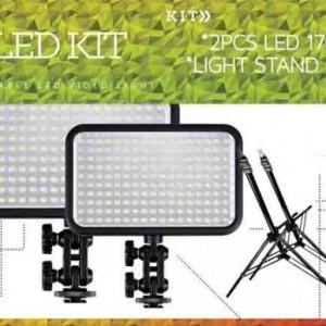 Led Two Light 170 Video Lighting Kit