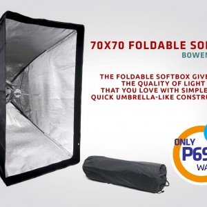 Bowens 70×70 Foldable Softbox