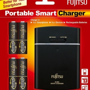 Fujitsu Battery with Rechargeable and USB POWERBANK