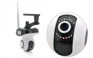 Affordable yet High Quality IP Camera with Wifi function, it can be connected to smartphone