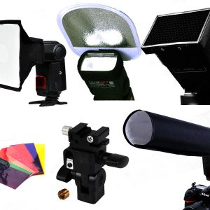 Flash Speedlight accessories kit by Photozuela